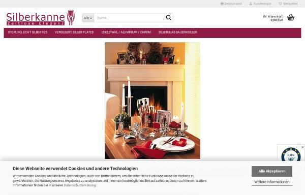 Vorschau von www.silberkanne.de, Silberkanne.de