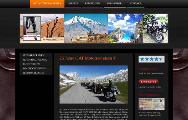 Vorschau von www.global-adventure-tours.de, Global Adventure Tours Motorradreisen (Würzburg, D)