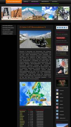 Vorschau der mobilen Webseite www.global-adventure-tours.de, Global Adventure Tours Motorradreisen (Würzburg, D)
