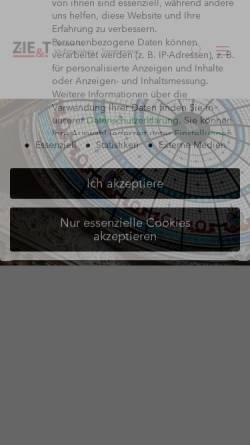 Vorschau der mobilen Webseite www.i-e-profil.de, Das Ich-Entwicklungs-Profil