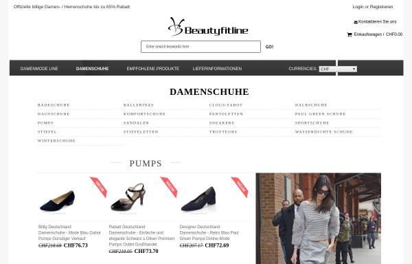 Vorschau von www.beautyfitline.de, beautyfitline.de