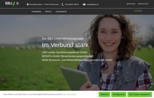 Vorschau von www.bbj-unternehmensgruppe.de, BBJ-Unternehmensgruppe