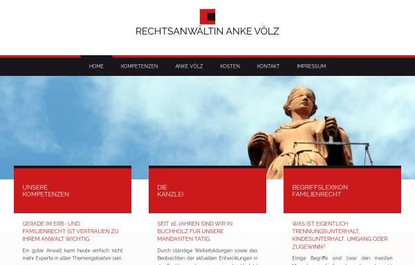 Vorschau von www.anwaelte-voelz.de, Rechtsanwälte Völz, Buchholz