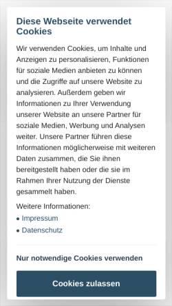 Vorschau der mobilen Webseite www.handwerksblatt.de, Handwerksblatt für Handwerk und Mittelstand