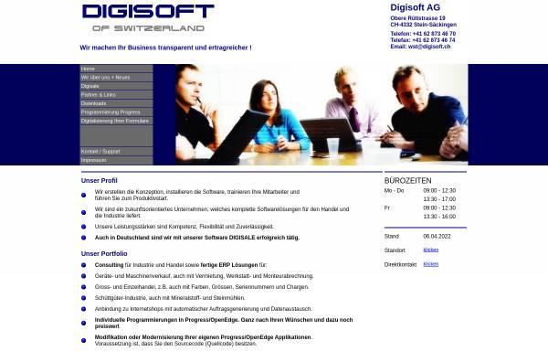 Vorschau von www.digisoft.ch, Digisoft AG