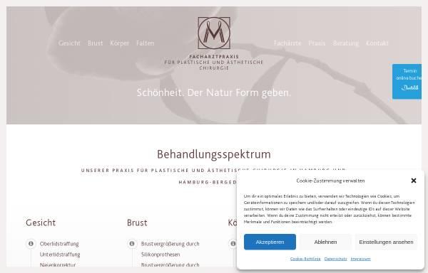Vorschau von www.dr-mueller-hamburg.de, Praxis Dr. Müller