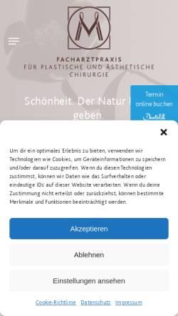 Vorschau der mobilen Webseite www.dr-mueller-hamburg.de, Praxis Dr. Müller