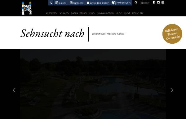 Vorschau von www.blumau.com, Thermen- und Wellness Hotel Blumau