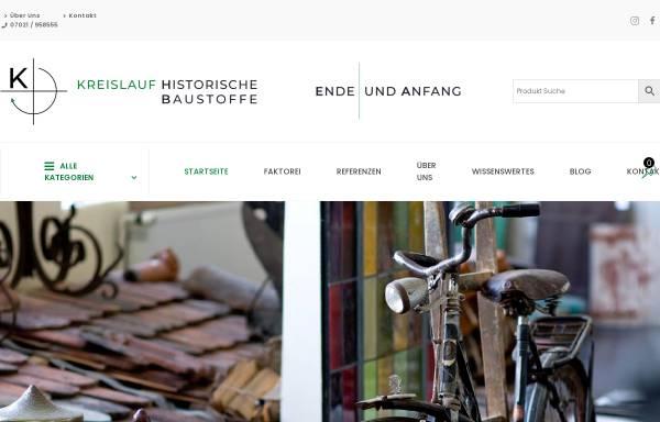 Vorschau von www.kreislaufkirchheim.de, Kreislauf - Historischer Baumarkt