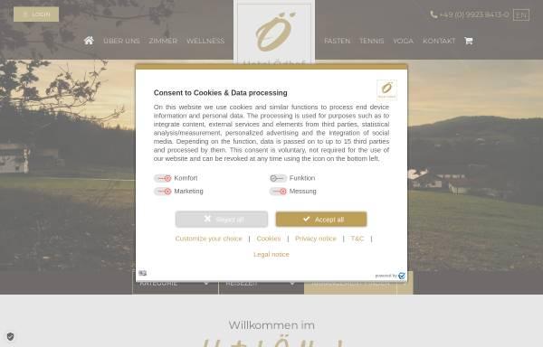 Vorschau von www.hotel-oedhof.de, Sporthotel Ödhof