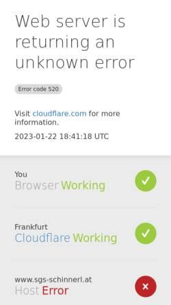 Vorschau der mobilen Webseite www.sgs-schinnerl.at, Schinnerl Traumgärten - Ein Stück heile Welt.