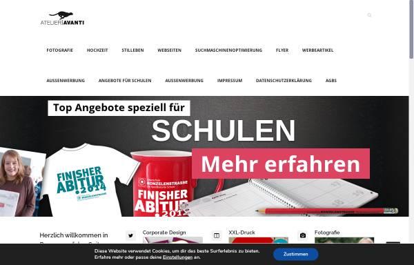 Vorschau von www.atelier-avanti.de, ATELIER AVANI - Ihre Werbeagentur im Herzen von Bremen