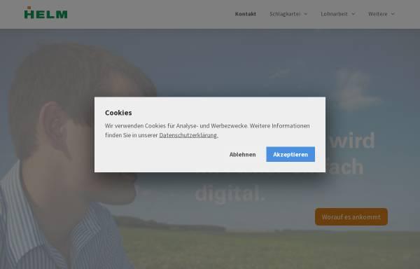 Vorschau von helm-software.de, Helm Agrarsoftware