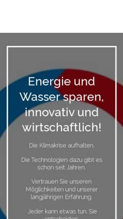 Vorschau der mobilen Webseite www.innovative-haustechnik.de, Dr. Detlev Kröger