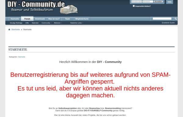 Vorschau von diy-community.de, DIY Community