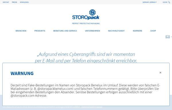Vorschau von www.storopack.de, Kartons und weitere Transportbehälter - Storopack