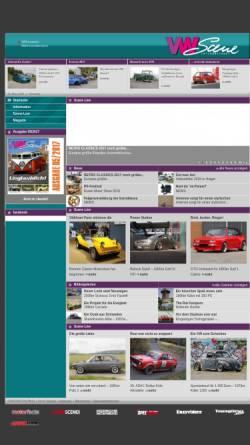 Vorschau der mobilen Webseite www.vw-scene.de, VW SCENE International - print und online Magazin für alle VW Fans