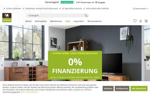 Vorschau von www.massivum.de, massivum