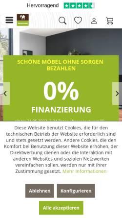 Vorschau der mobilen Webseite www.massivum.de, massivum