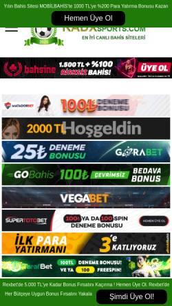 Vorschau der mobilen Webseite www.bet-factory.com, bet-factory