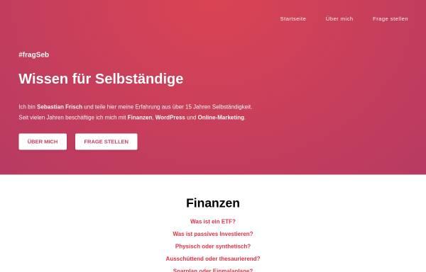 Vorschau von www.sfrisch.de, Frisch, Sebastian