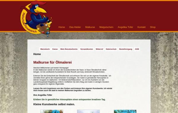 Vorschau von www.malkurse.info, Malkurse - Malschule Pinselstrich