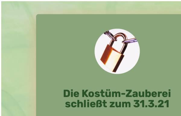 Vorschau von www.kostuem-zauberei.de, Adlershofer Kostüm-Zauberei