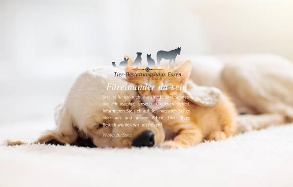 Vorschau von www.tbh-essen.de, Tierbestattungen / Bestattung von Tieren - Tierbestattungshaus Essen OHG