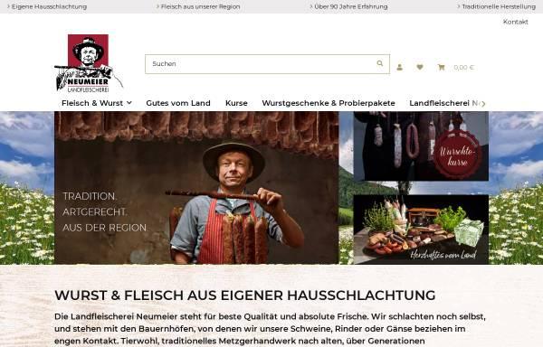 Vorschau von www.ahle-wurscht.de, Ahle Wurst, Wurstspezialitäten und Biofleisch