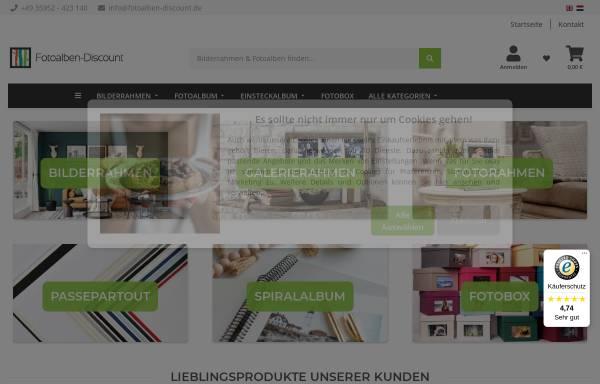 Vorschau von www.fotoalben-discount.de, Der Fotoalbum Discount