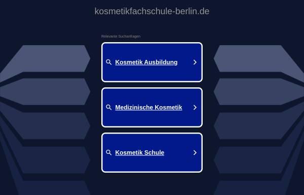 Vorschau von www.kosmetikfachschule-berlin.de, Berliner Berufsfachschule für Kosmetikerinnen GmbH