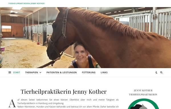 Vorschau von www.thpjk.de, Tierheilpraktikerin Jenny Kother