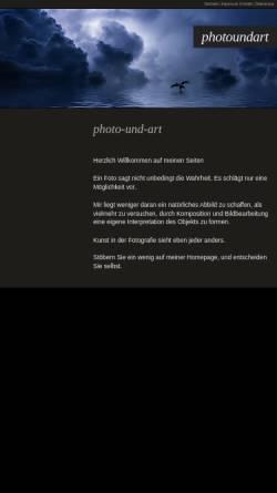 Vorschau der mobilen Webseite www.photo-und-art.de, photo und art by leyendecker