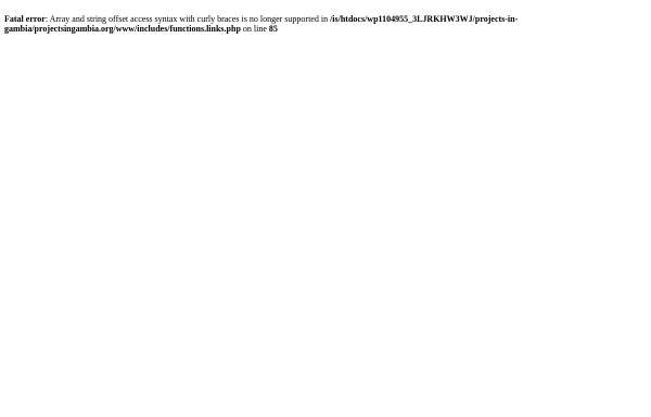Vorschau von www.projectsingambia.org, Förderverein Berufsbildung in Gambia e.V.