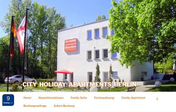 Vorschau von www.pension-guesthouse-berlin.de, City Guesthouse Pension Berlin