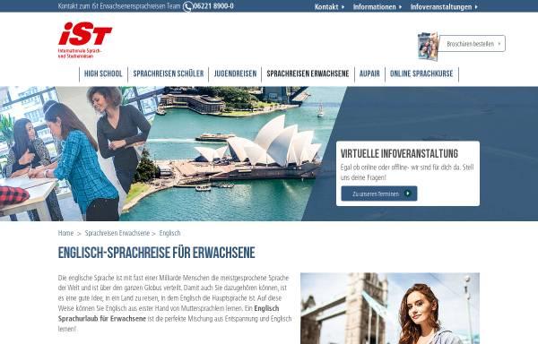 Vorschau von www.sprachreisen-irland.info, Sprachreise mit iSt - Auslandsaufenthalt in Irland