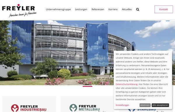 Vorschau von www.freyler.de, Individuelle Bürogebäude - Bauunternehmen Freyler