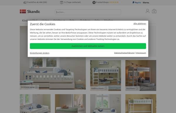 Skanic: Möbel, Haus und Garten skandic.de