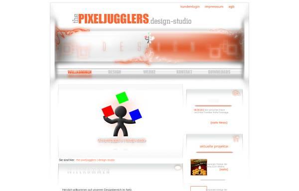 Vorschau von mdx.pixeljugglers.com, the pixeljugglers | design-studio