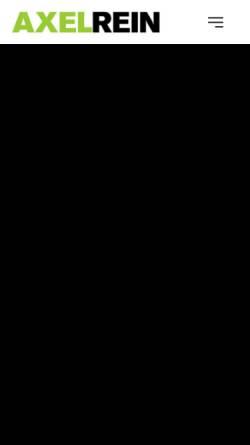 Vorschau der mobilen Webseite www.axelrein.de, Axel Rein, Fotograf und Designer