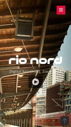 Vorschau der mobilen Webseite rionord.de, rio nord