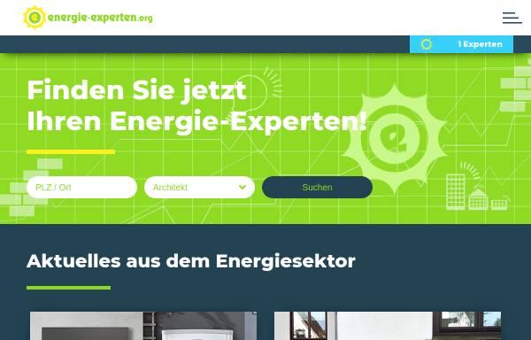 Vorschau von www.energie-experten.org, energie-experten.org - Experten in Ihrer Nähe