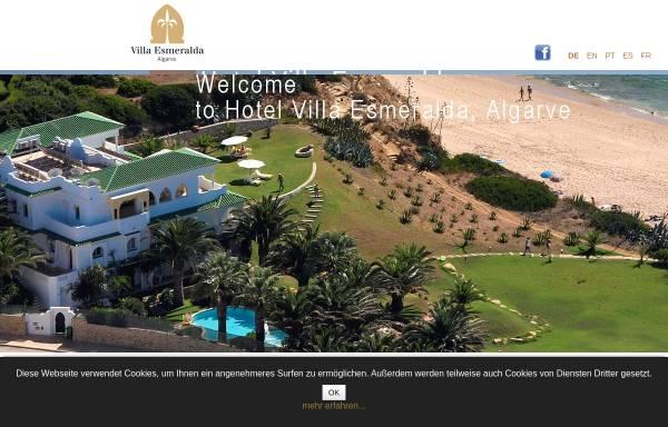Vorschau von www.villa-esmeralda-algarve.com, Hotel Villa Esmeralda