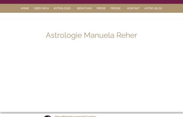 Vorschau von www.astrolingua.de, Astrologische Beratung Manuela Reher