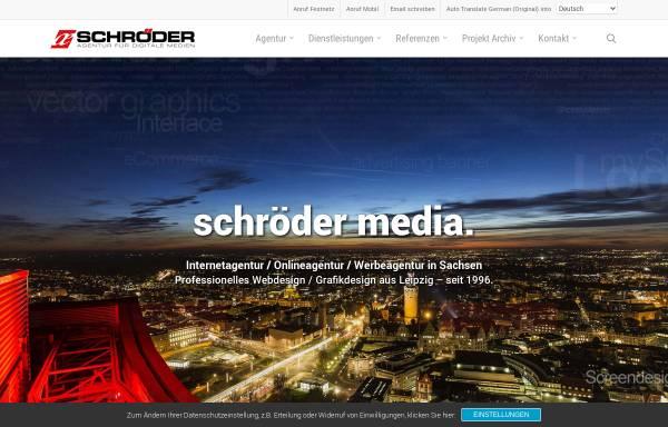 Vorschau von www.schroeder-media.net, Schröder Media