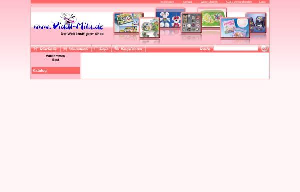 Vorschau von www.diddl-mila.de, Diddl Mila