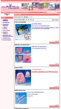 Vorschau der mobilen Webseite www.diddl-mila.de, Diddl Mila