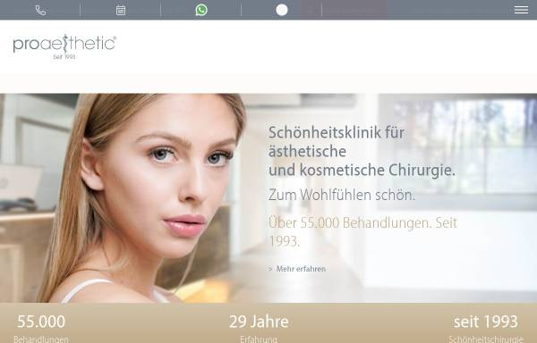 Vorschau von www.for-karlsruhe.de, foraesthetic Lounge in Karlsruhe