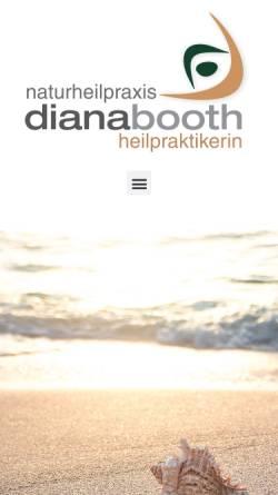 Vorschau der mobilen Webseite www.naturheilpraxis-tbb.de, Naturheilpraxis Diana Booth