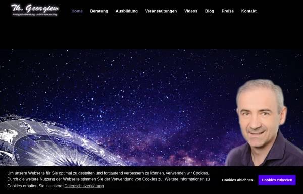 Vorschau von www.astrologie-dresden.com, Thomas Georgiew - Astrologische Beratung Dresden